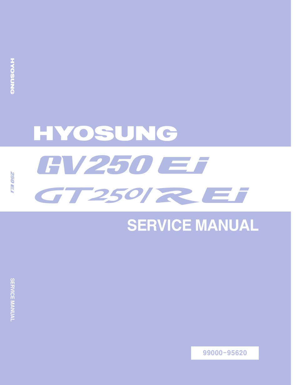 HYOSUNG GV250 EI SERVICE MANUAL Pdf Download | ManualsLib | Hyosung Gv250 Wiring Diagram |  | ManualsLib