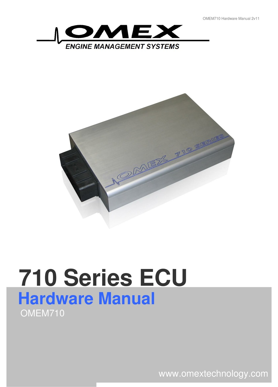 Omex Omem710 Hardware Manual Pdf
