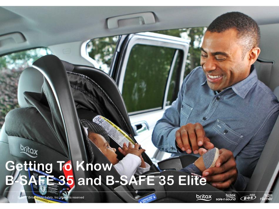 Britax B Safe 35 Manual Pdf, Britax B Safe 35 Car Seat Base Installation With Belt