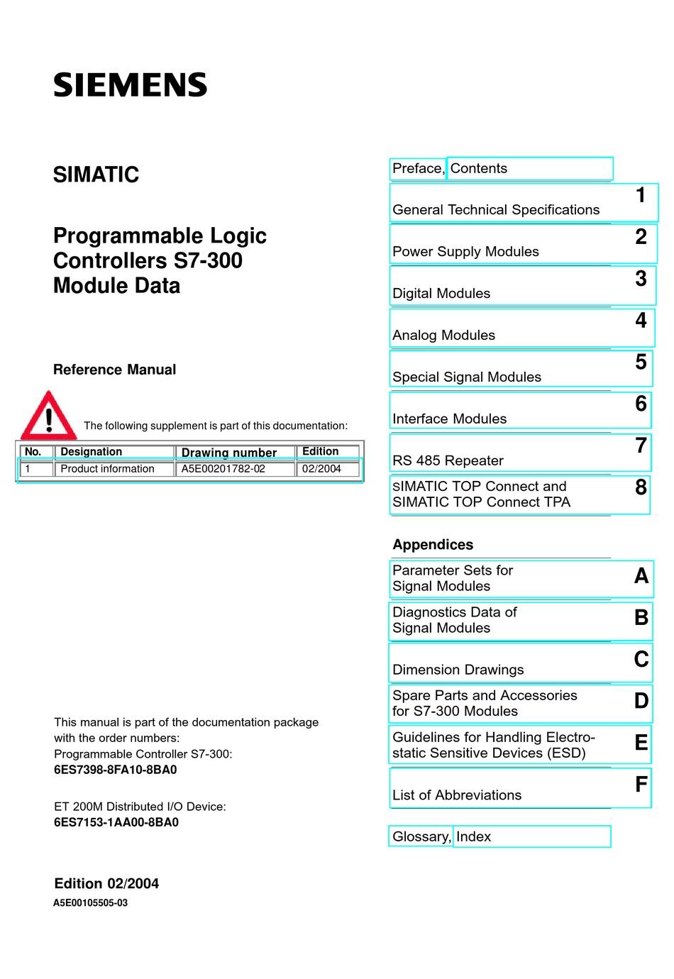 2x siemens Simatic s7 im361 6es7361-3ca01-0aa0
