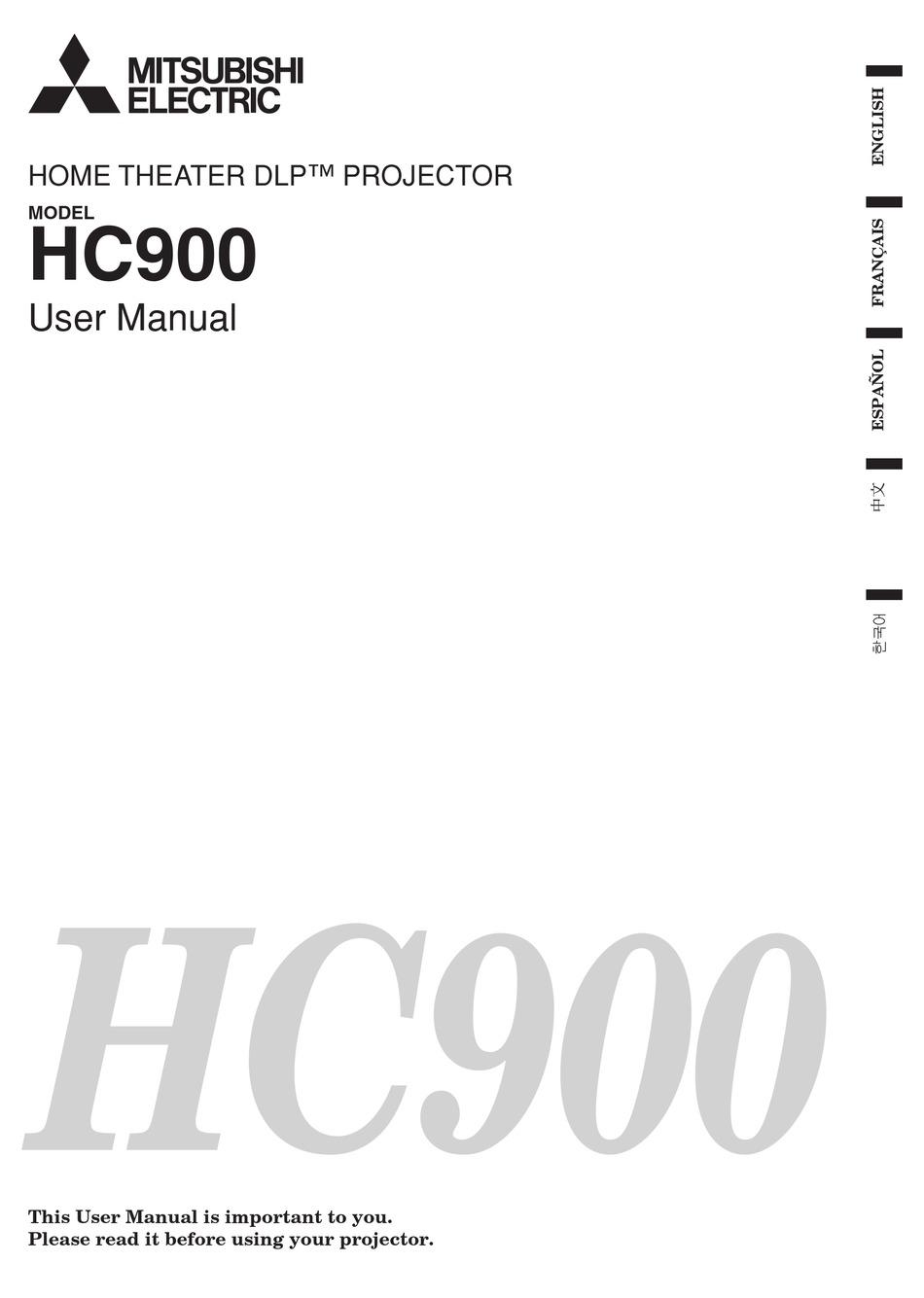Mitsubishi Electric Hc900 User Manual Pdf Download Manualslib