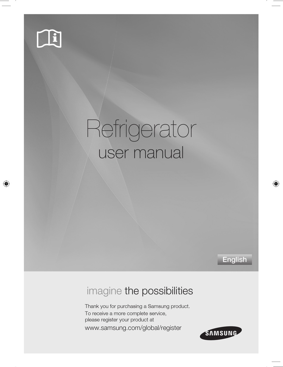 Samsung Refrigerator User Manual Pdf Download Manualslib