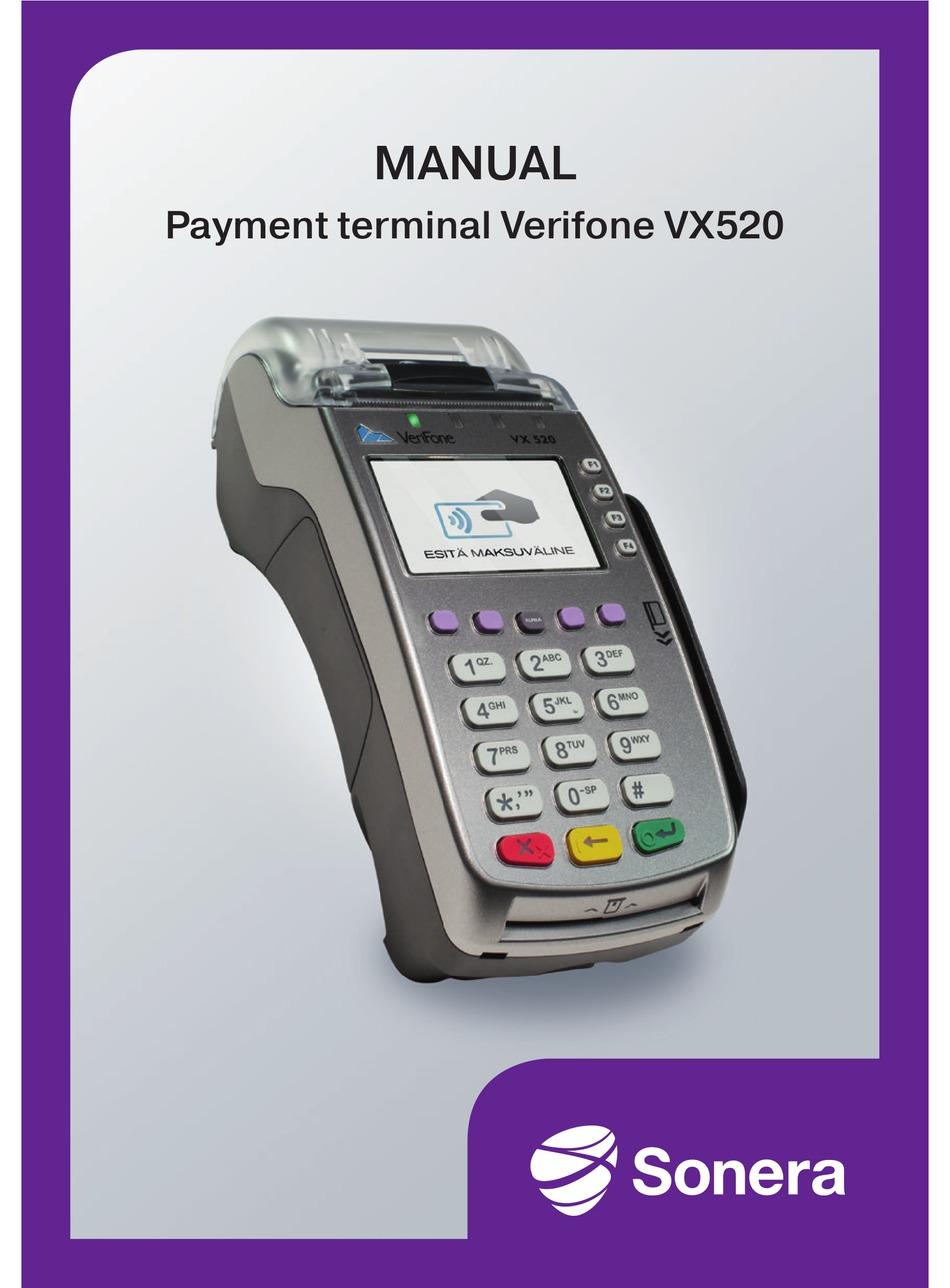VERIFONE VX6 MANUAL Pdf Download ManualsLib