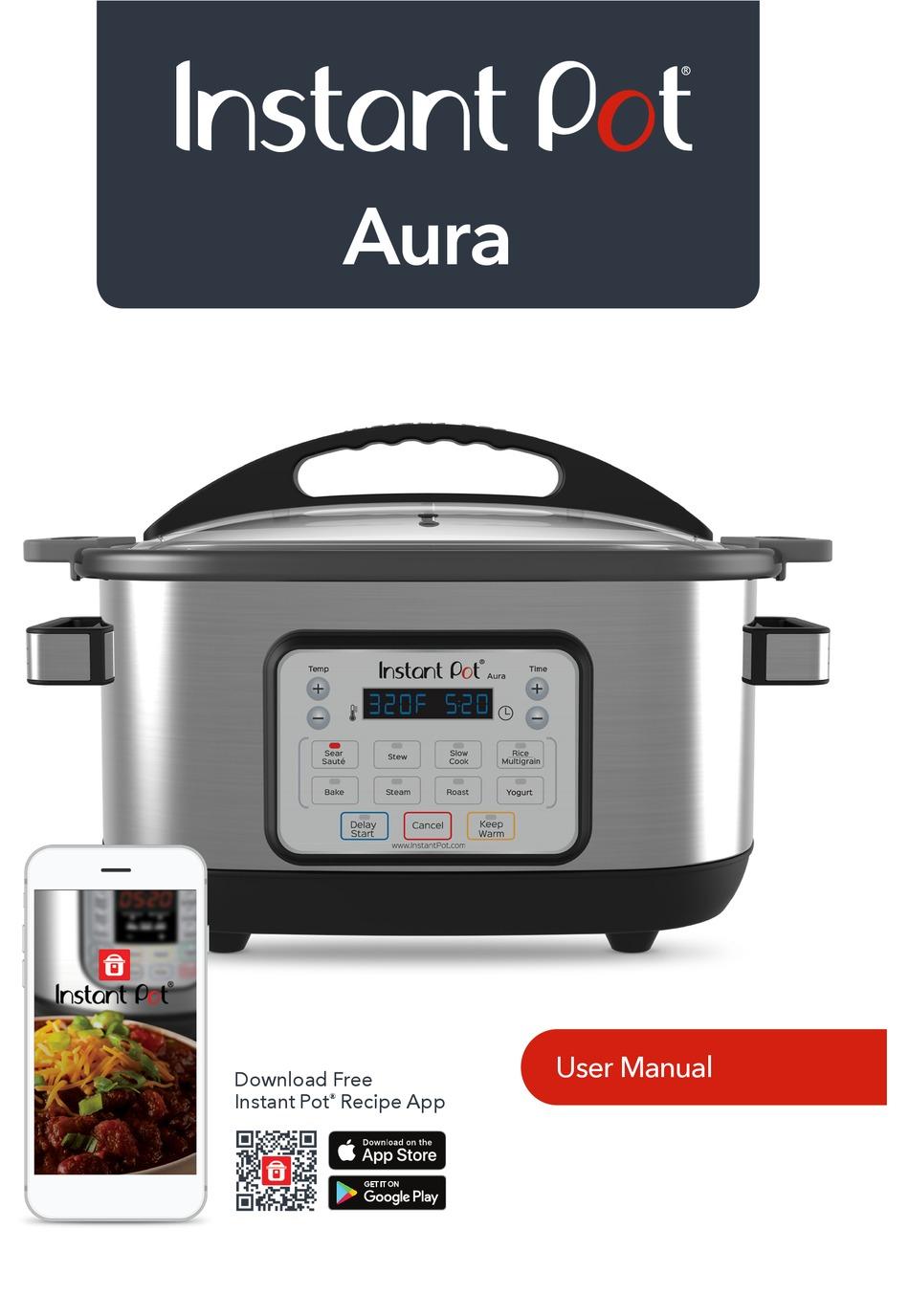 Instant Pot Aura User Manual Pdf Download Manualslib