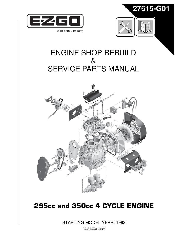 e-z-go 295cc shop rebuild manual pdf download   manualslib  manualslib