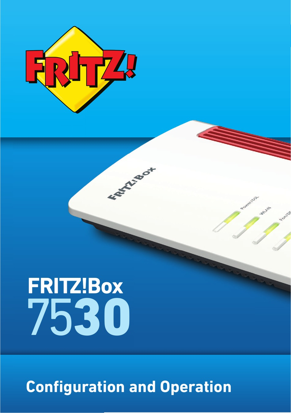 AVM FRITZBOX 20 CONFIGURATION AND OPERATION Pdf ...