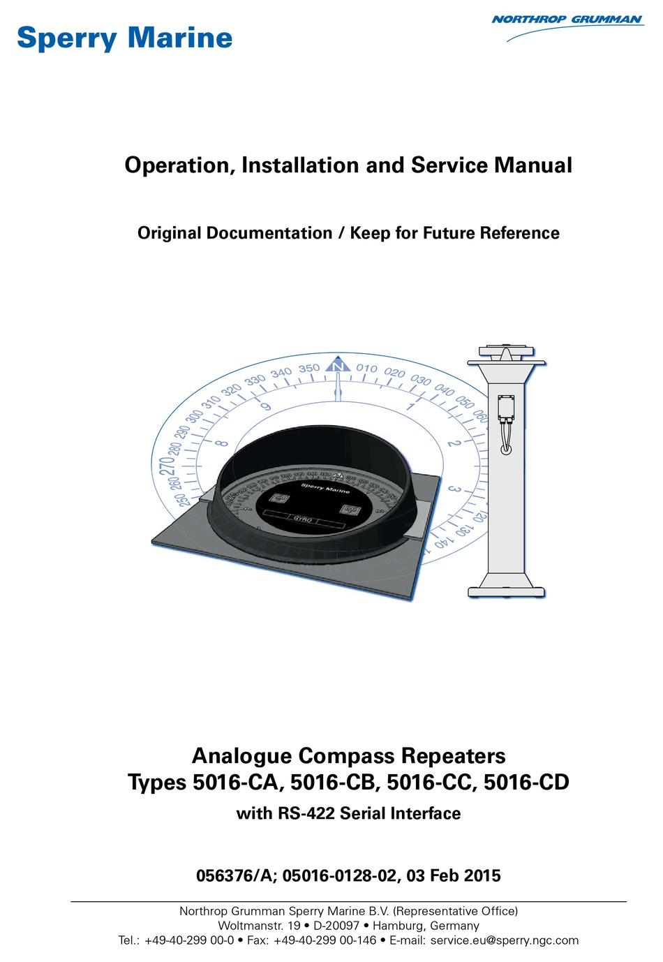 SPERRY MARINE 5016-CA OPERATION, INSTALLAION AND SERVICE MANUAL Pdf  Download   ManualsLib   Sperry Marine Wiring Diagram      ManualsLib