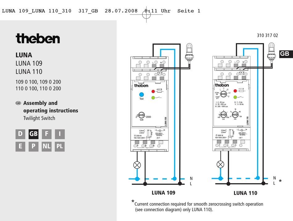 Theben LU 110