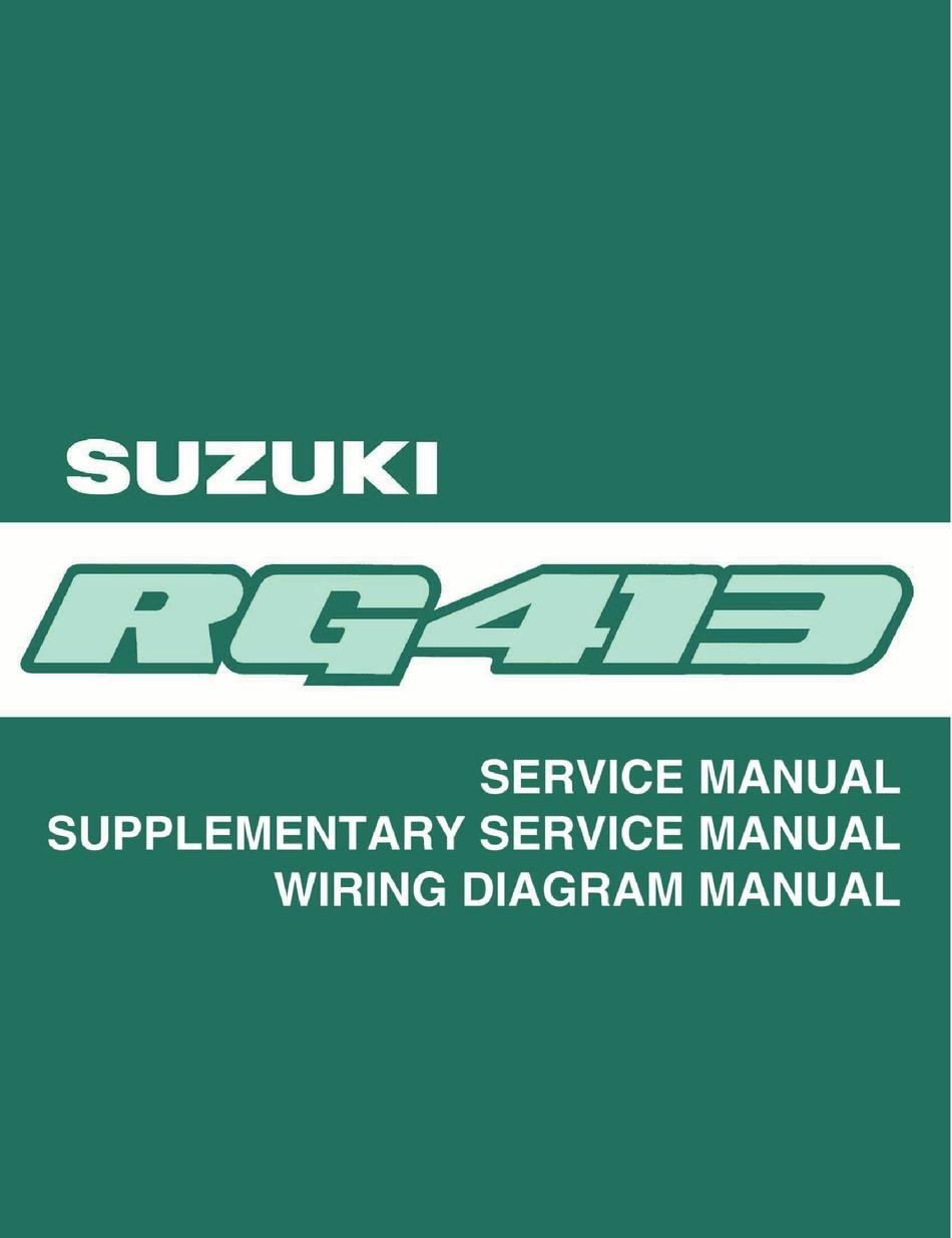 Suzuki Ignis Service Manual Pdf Download Manualslib
