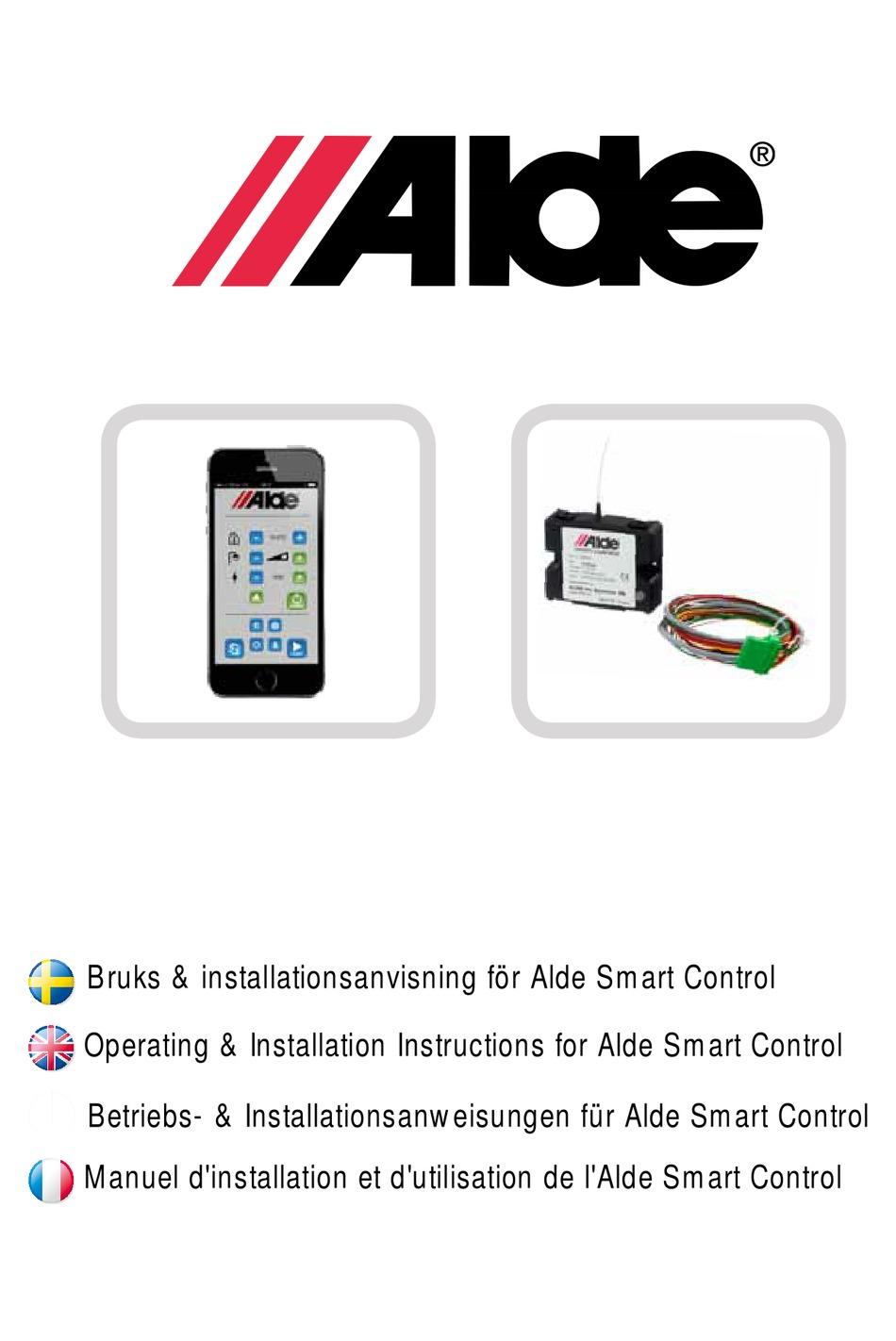 Smart control sms alde Få styr