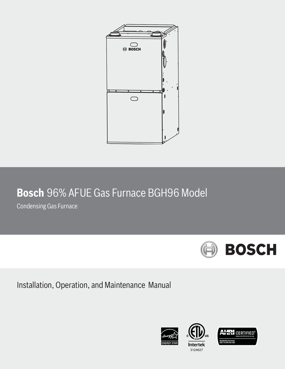 BOSCH BGH96M060B3A INSTALLATION, OPERATION AND MAINTENANCE MANUAL Pdf  Download | ManualsLibManualsLib