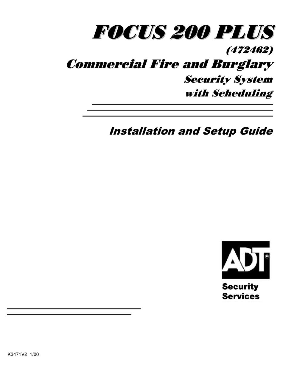 ADT FOCUS 200 PLUS INSTALLATION AND SETUP MANUAL Pdf Download | ManualsLib | Adt Focus 200 Wiring Diagram |  | ManualsLib