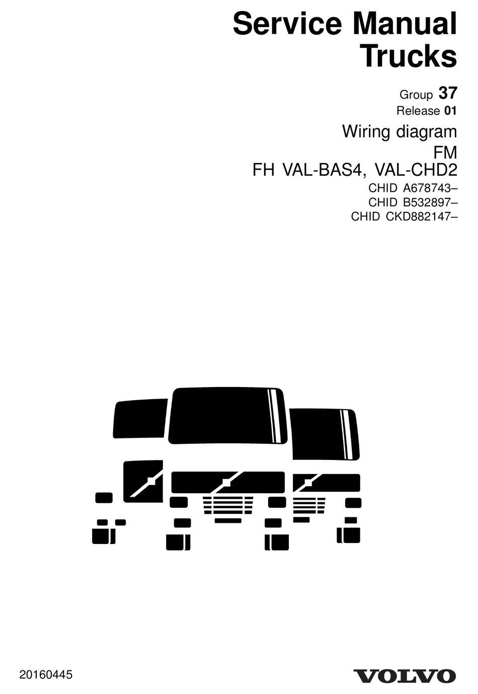 volvo fm series wiring diagram pdf download | manualslib  manualslib