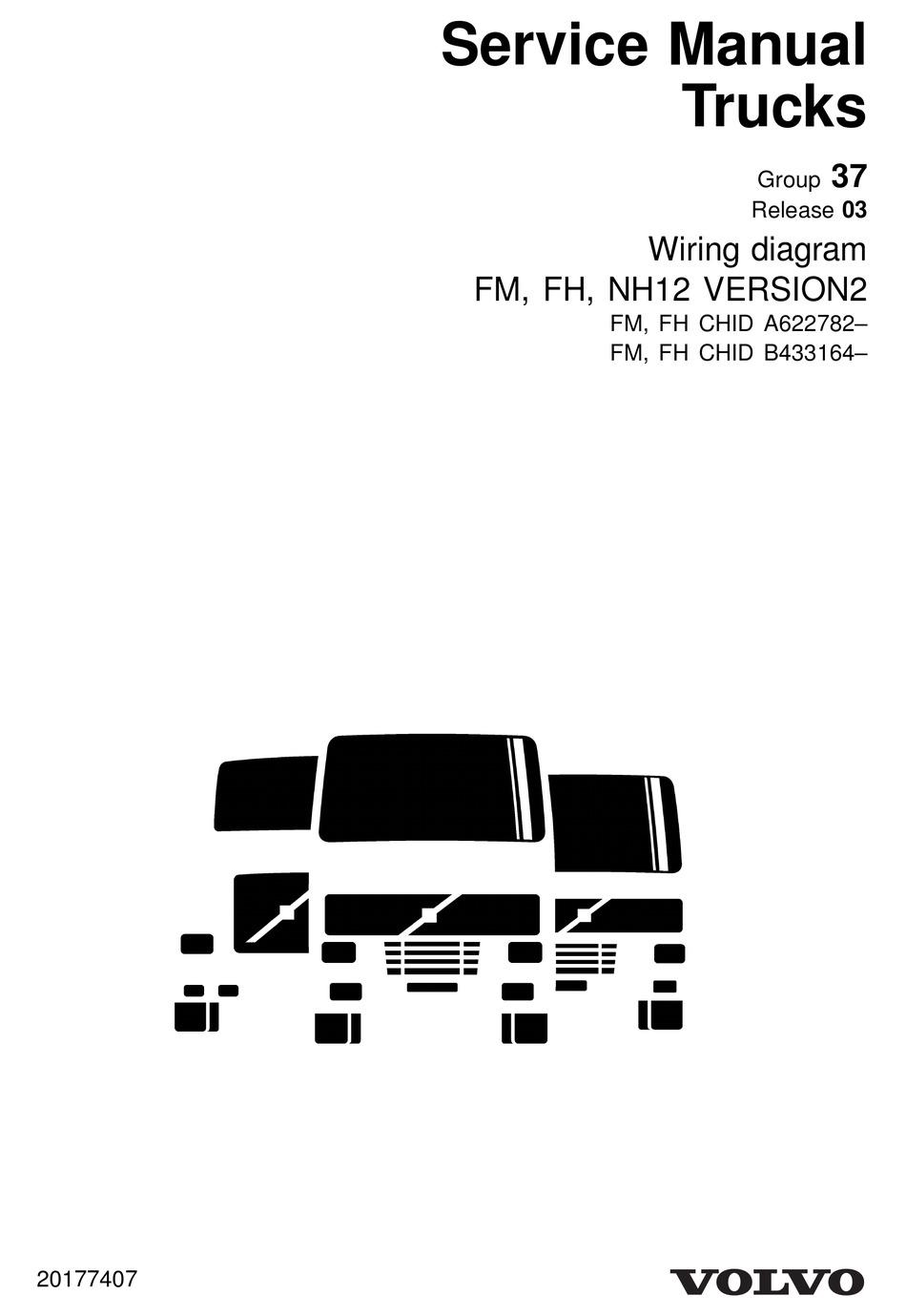 VOLVO FM SERIES WIRING DIAGRAM Pdf Download | ManualsLib | Volvo Fm 400 Wiring Diagram |  | ManualsLib