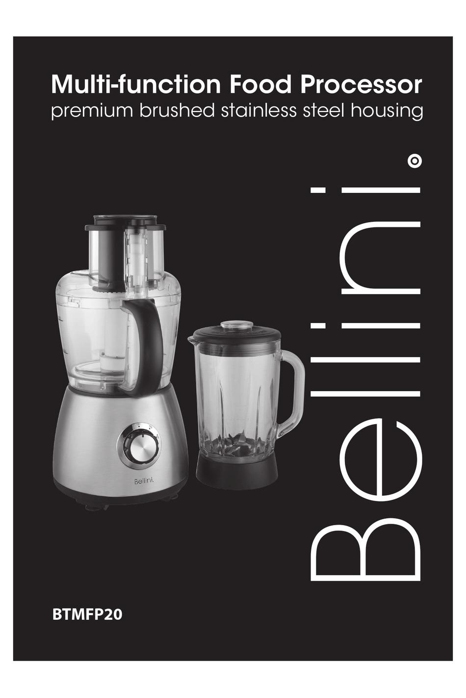 Bellini Btmfp20 Manual Pdf Download Manualslib
