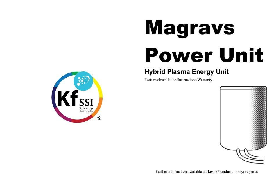 Magrav power units