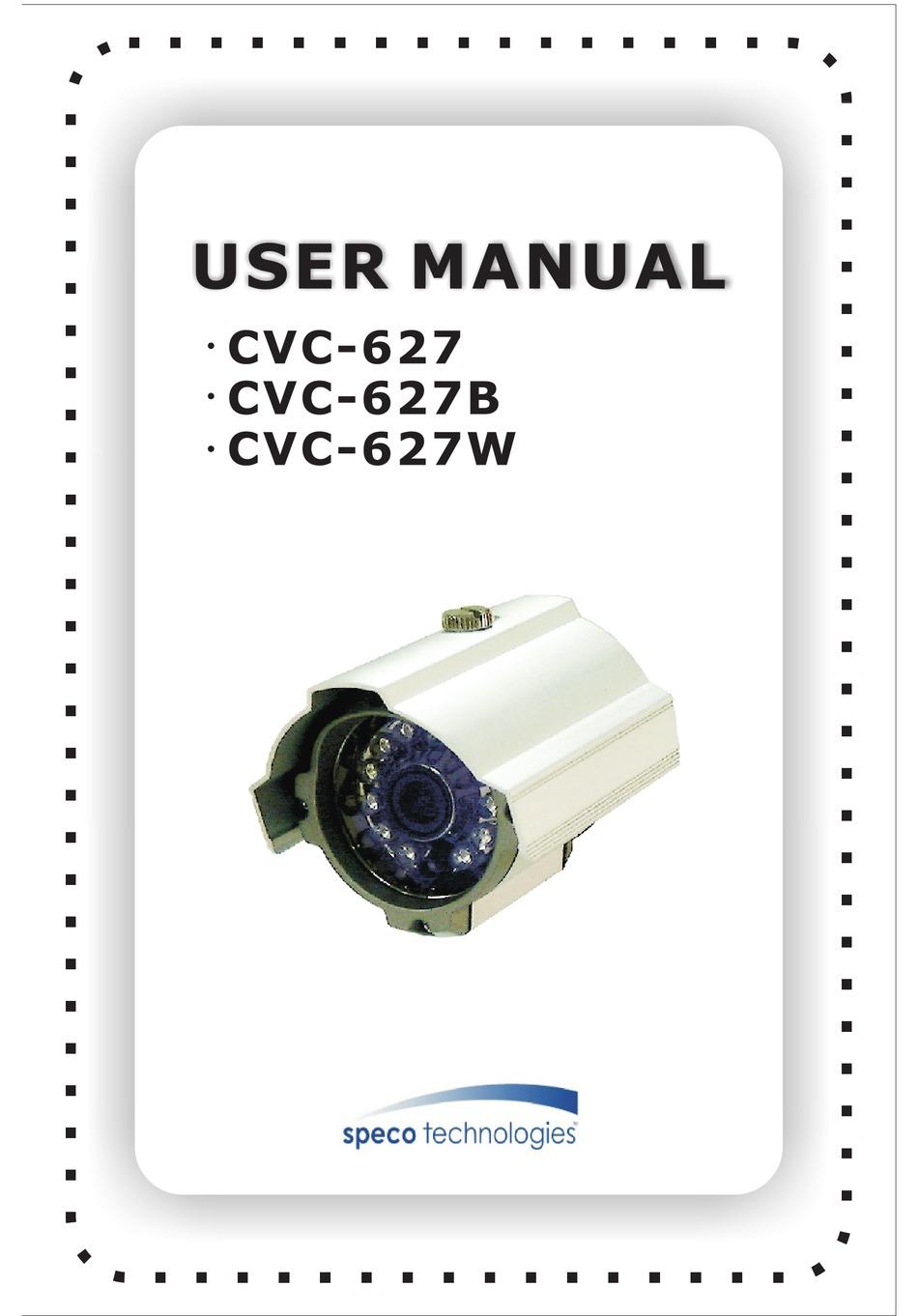 SPECO CVC-627 USER MANUAL Pdf Download   ManualsLib   Speco Camera Wiring Diagram      ManualsLib