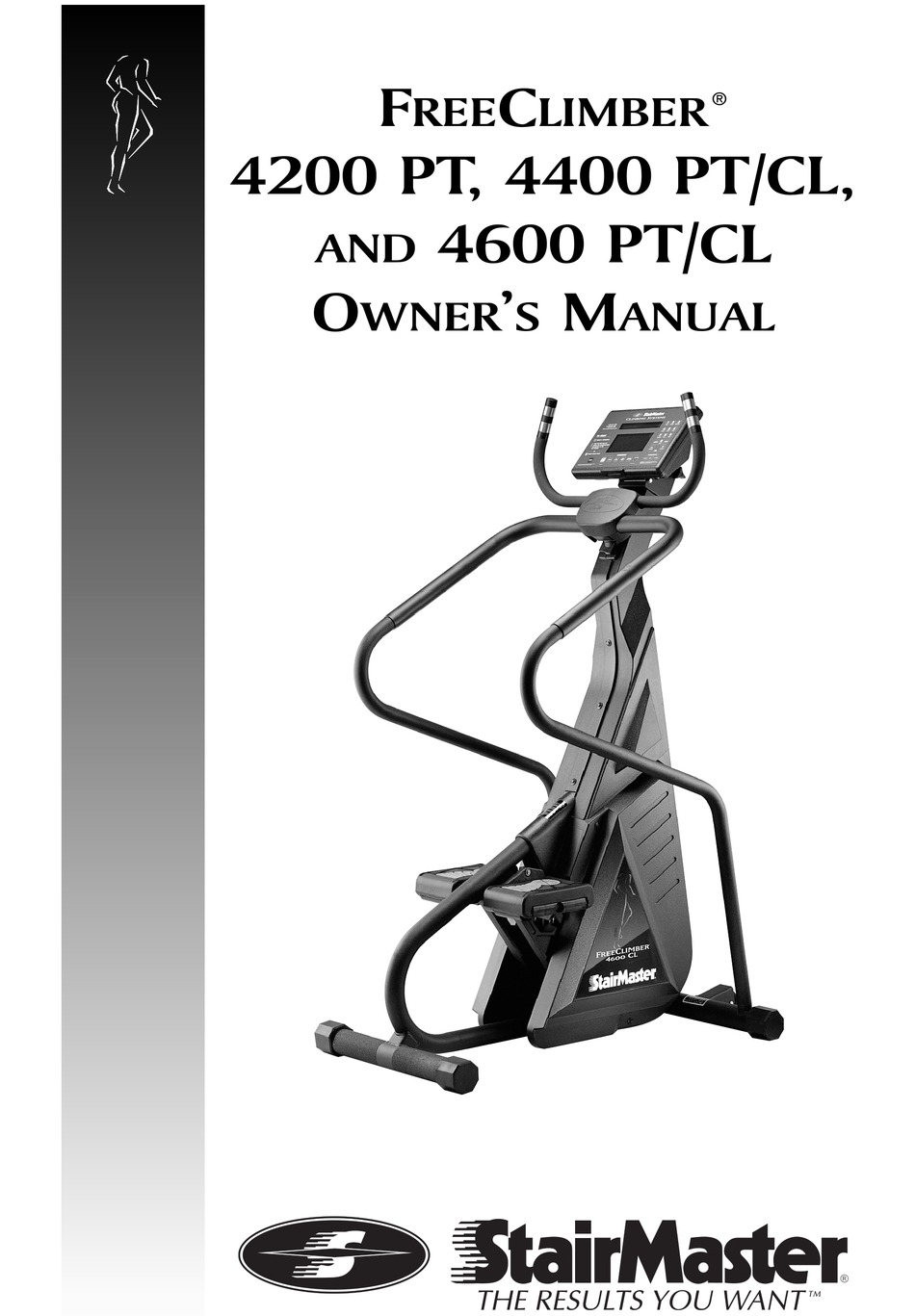 Stairmaster Freeclimber 4400 Pt Cl Owner S Manual Pdf Download Manualslib