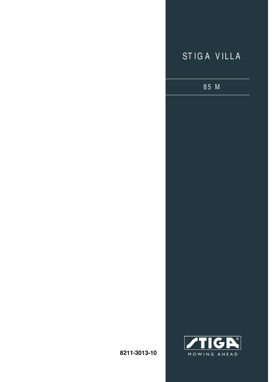 Villa 85 M Messerklingen-Satz pas f Park 121 M Villa II 85 Stiga Park 102 M