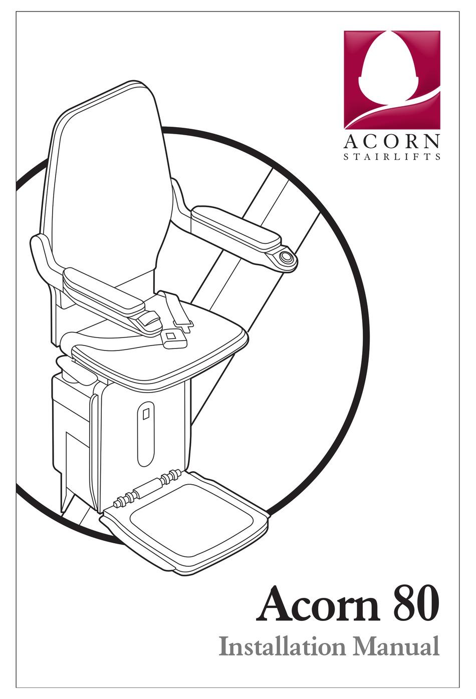 Acorn 80 Installation Manual Pdf Download Manualslib