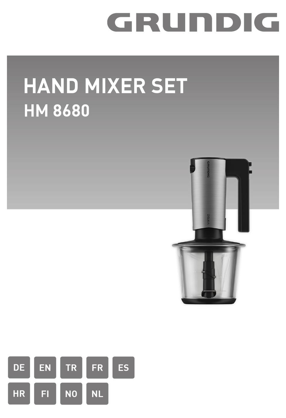 GRUNDIG HM 8680 MANUAL Pdf Download