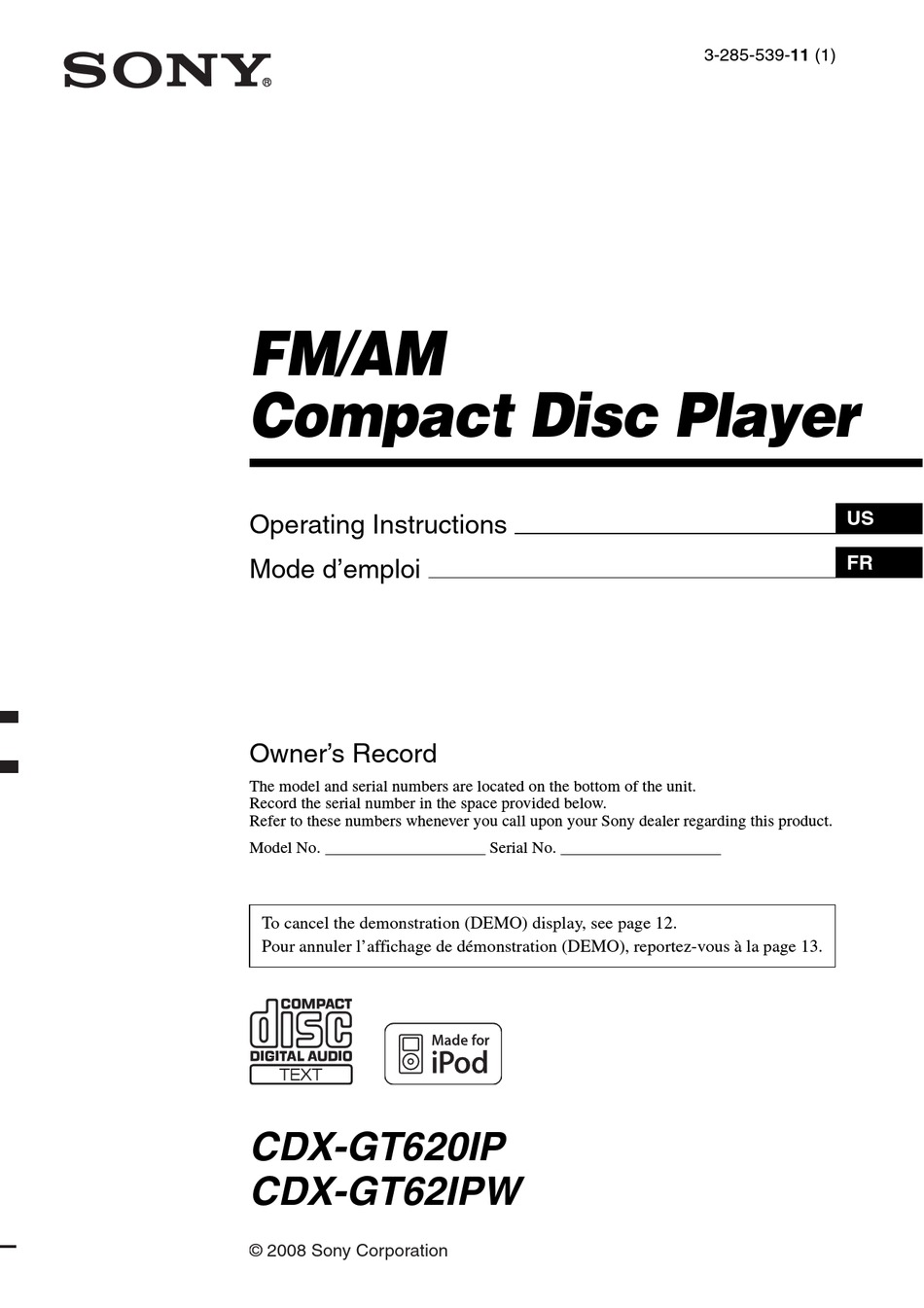 Sony Cdx Gt660Up Wiring Diagram from data2.manualslib.com