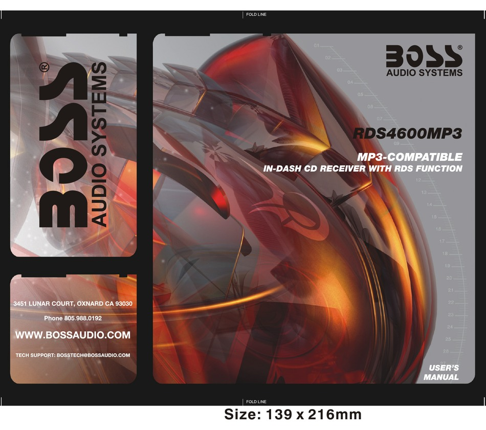 BOSS AUDIO SYSTEMS 4600 USER MANUAL Pdf Download | ManualsLibManualsLib