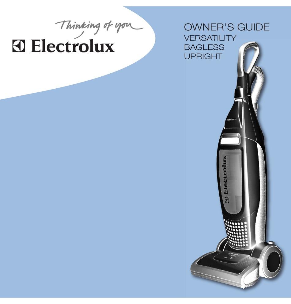 Electrolux El8502 Owner S Manual Pdf Download Manualslib