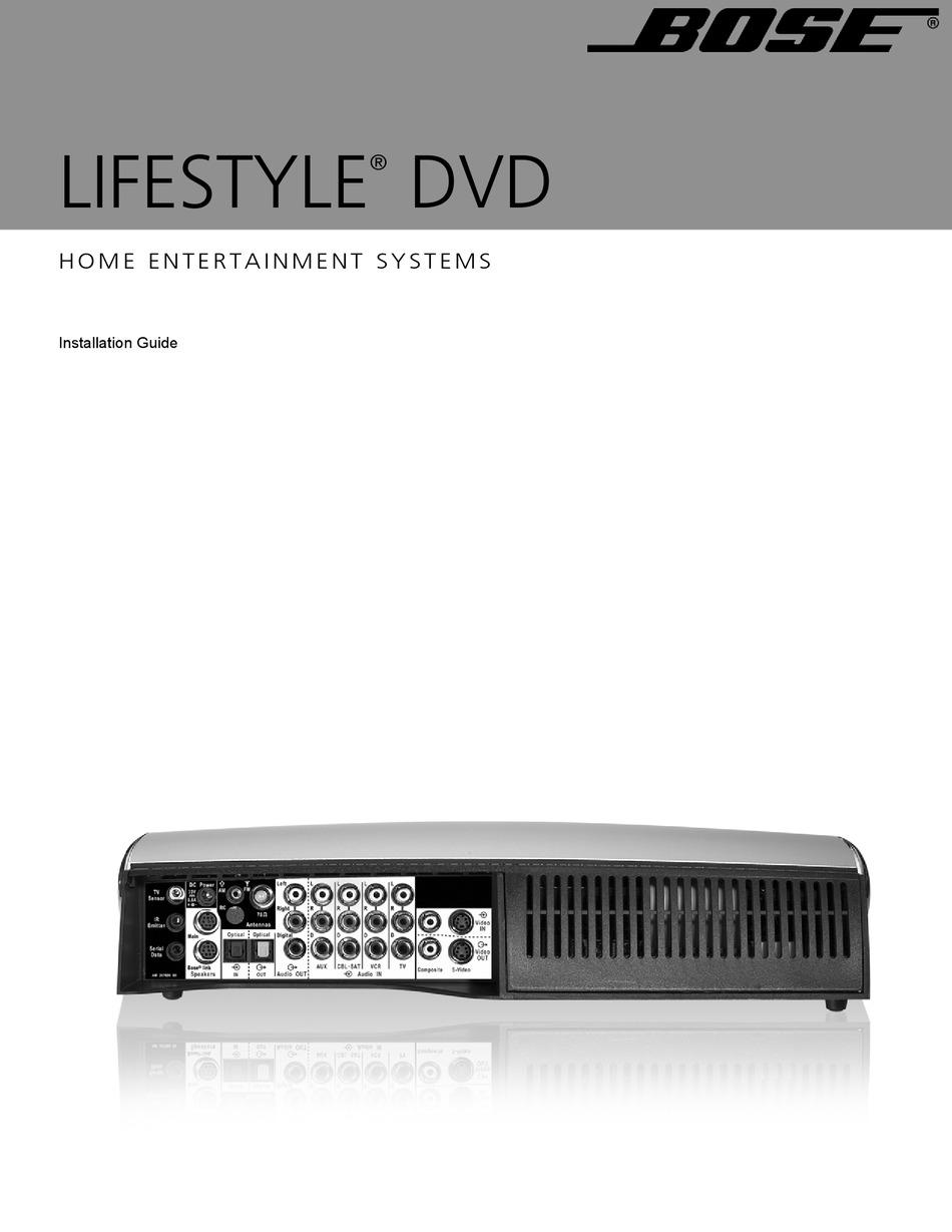 BOSE LIFESTYLE 18 SERIES II INSTALLATION MANUAL Pdf Download   ManualsLibManualsLib