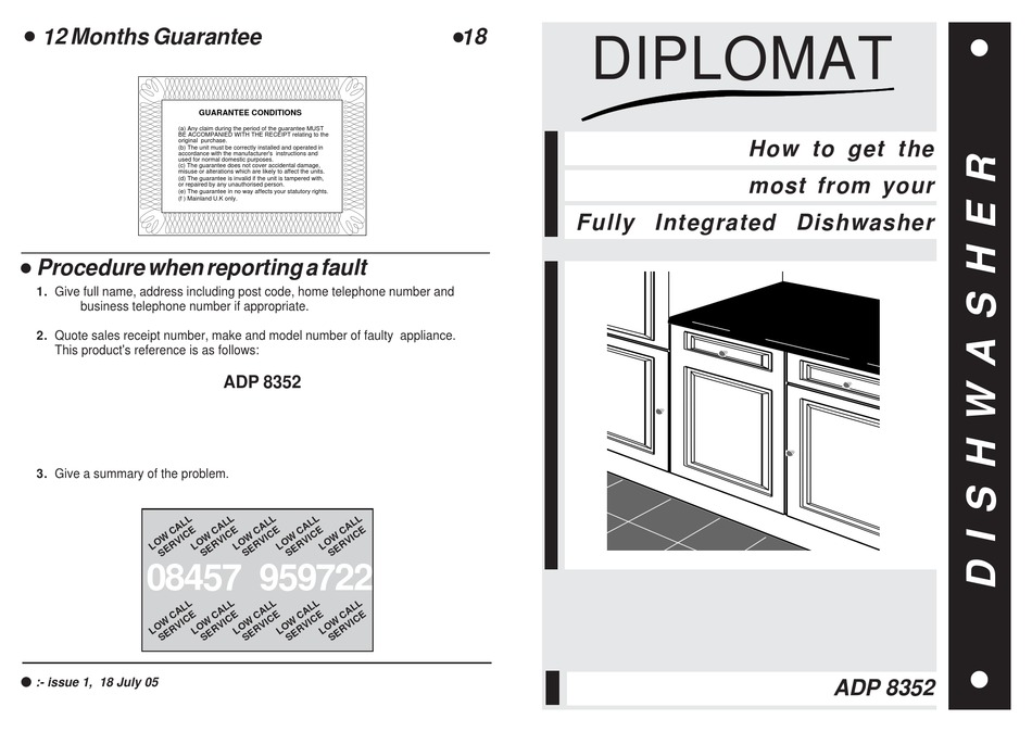 DIPLOMAT ADP8352 USER MANUAL Pdf Download | ManualsLib