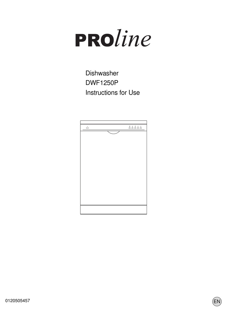 Proline Dwf1250p Instructions For Use Manual Pdf Download Manualslib