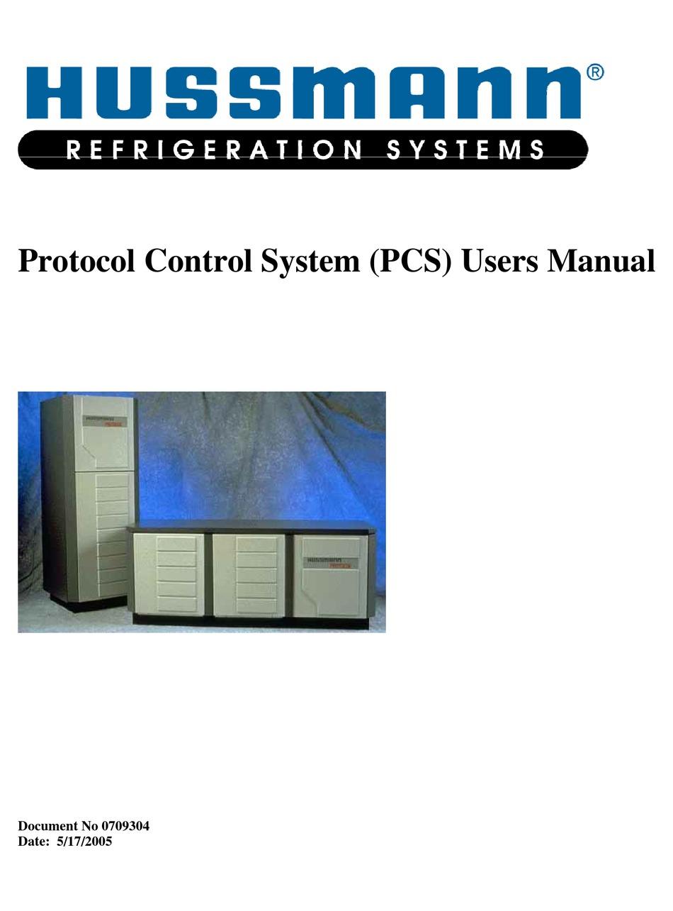 Hussmann Pcs User Manual Pdf