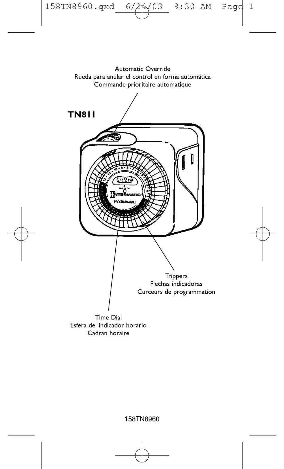 Intermatic ep100c manual