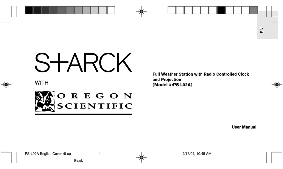 Oregon Scientific Psl02a User Manual Pdf Download Manualslib