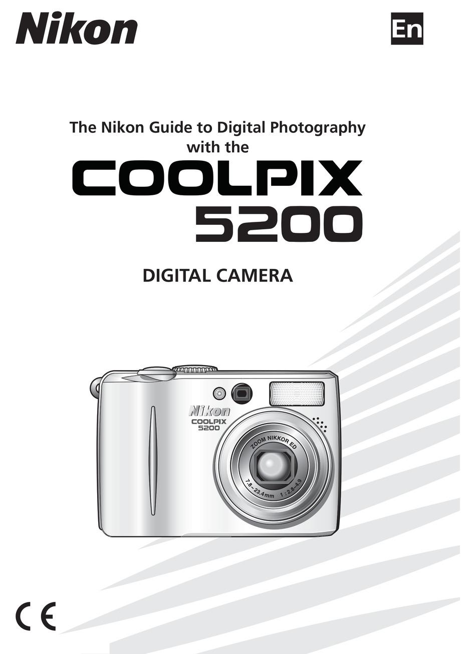 Nikon Coolpix 5200 Manual Pdf Download Manualslib