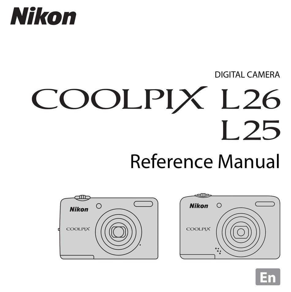 Nikon Coolpix L25 Reference Manual Pdf Download Manualslib