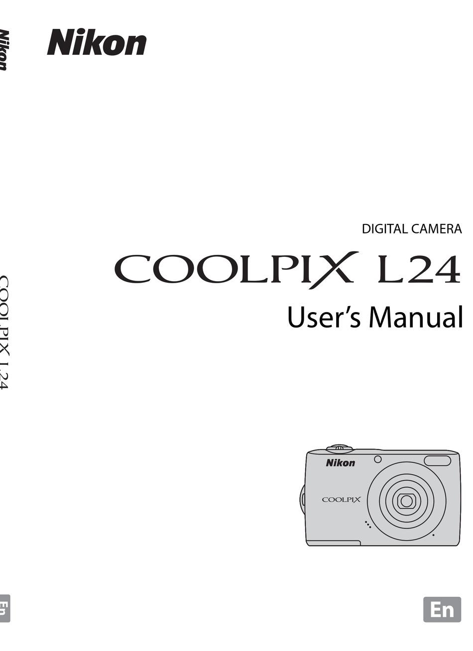 Nikon Coolpix L24 User Manual Pdf Download Manualslib