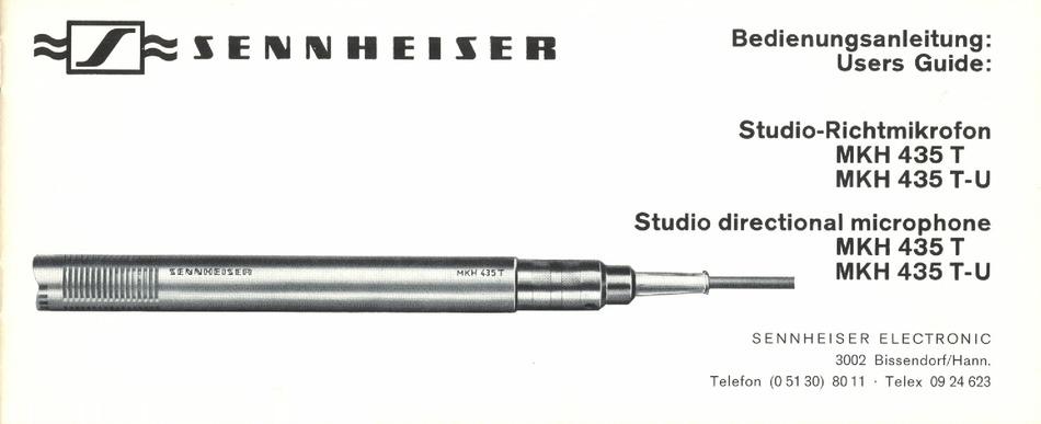 Sennheiser MZG 415