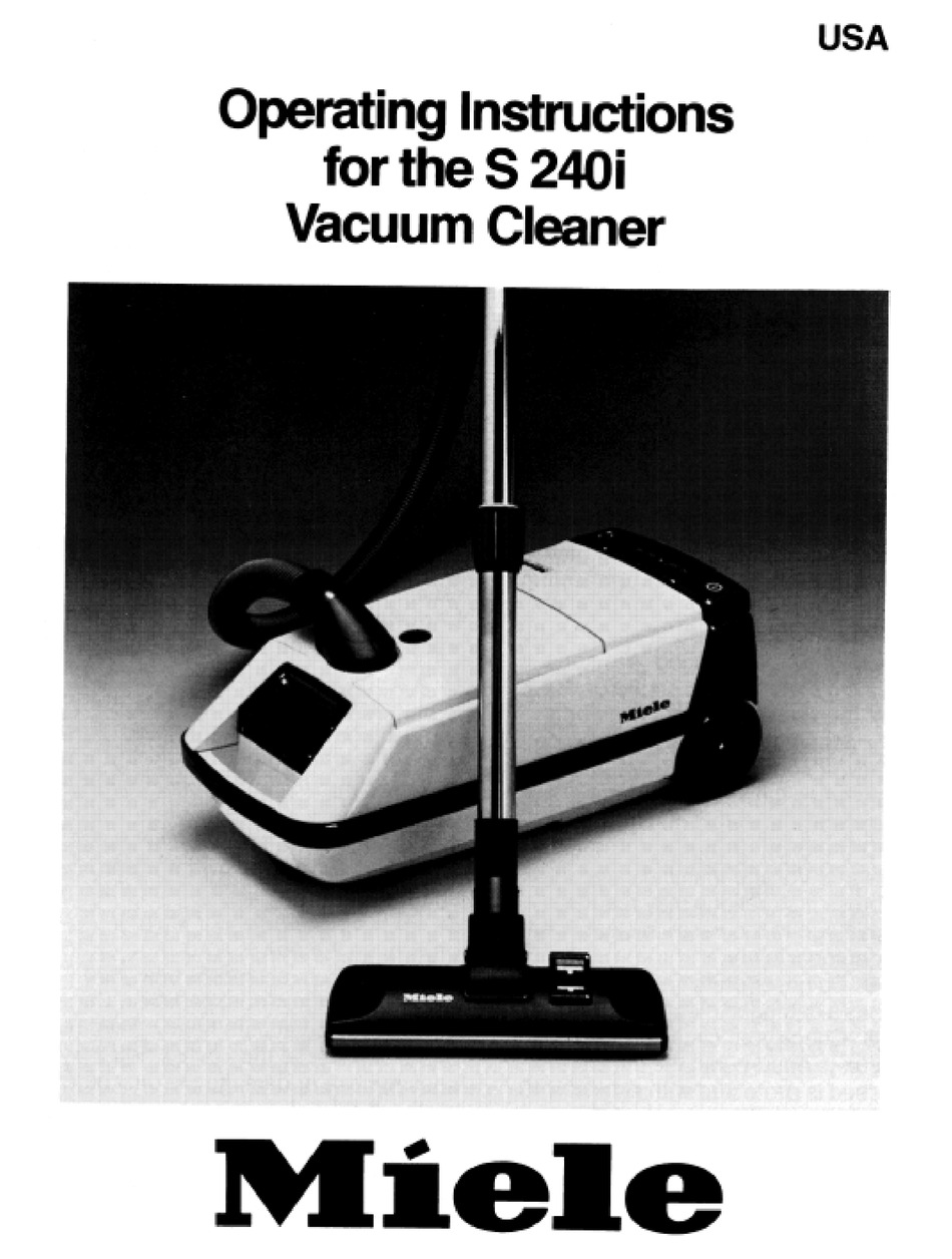 Miele Vacuum Cleaners Service Manual