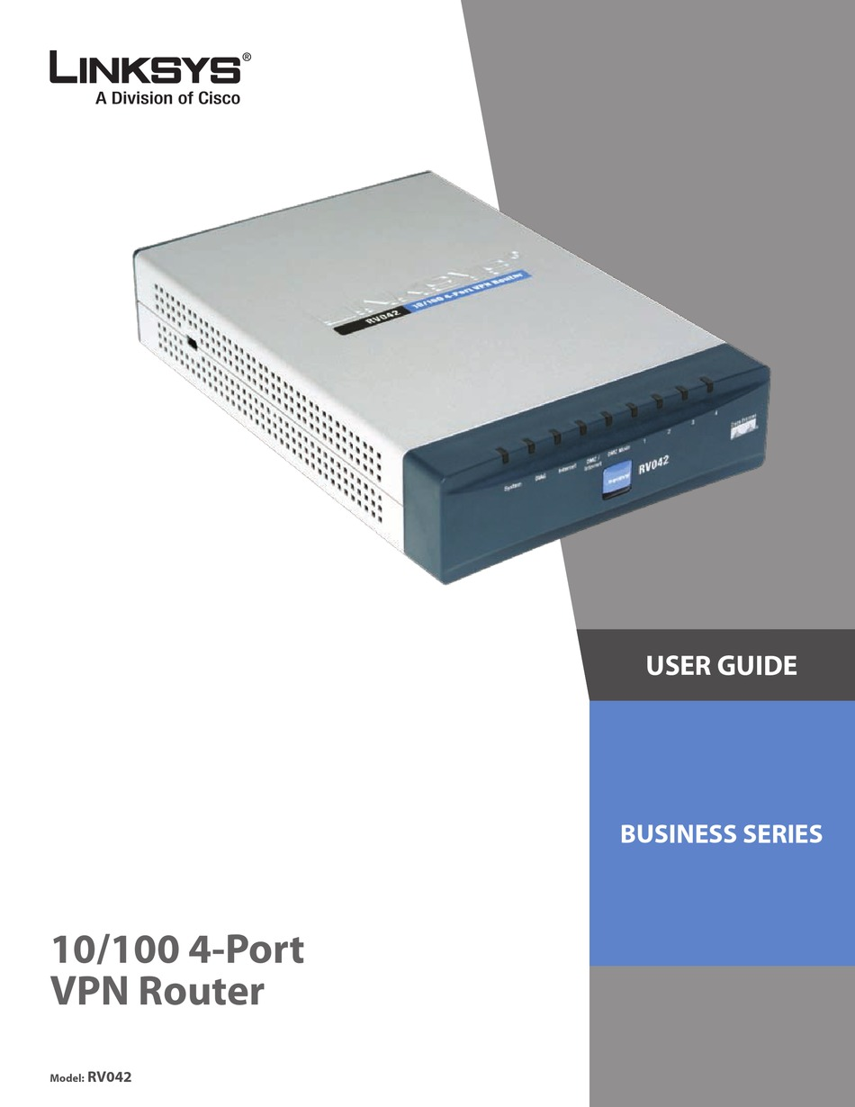 cisco rv042 small business dual wan vpn router - Cisco Rv042 Dual Wan Vpn Router Manual
