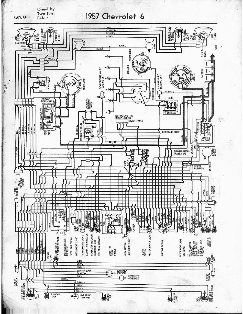 Chevrolet Chevy 1957 1965 Wiring Diagrams Wiring Diagram Pdf Download Manualslib
