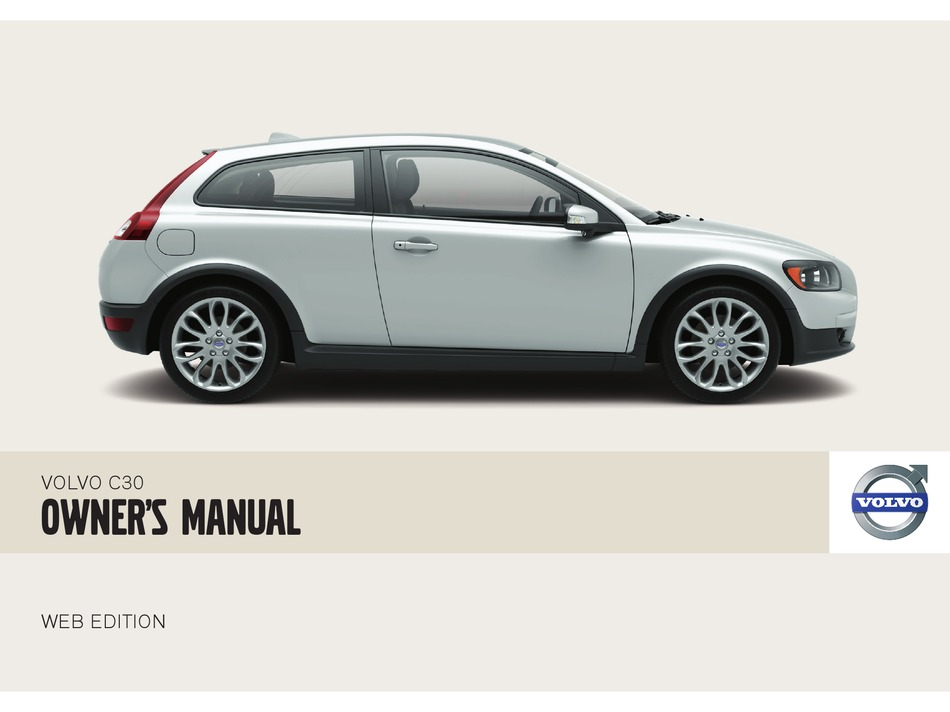 Volvo C30 Owner S Manual Pdf Download Manualslib