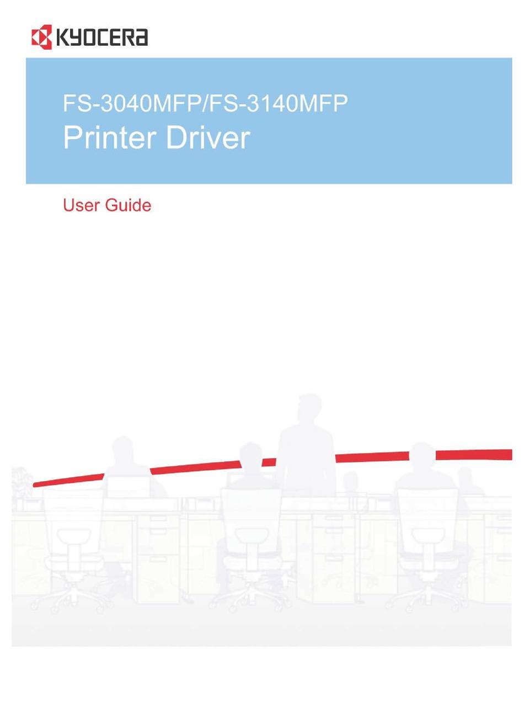 Kyocera Fs 3040mfp User Manual Pdf Download Manualslib