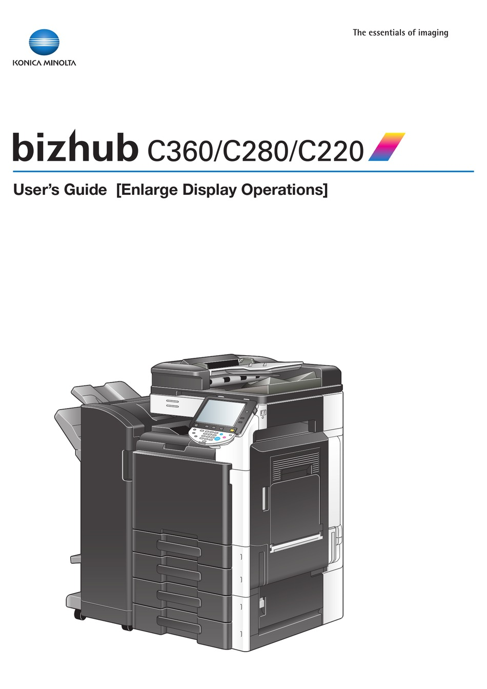 Konica Minolta Bizhub C280 User Manual Pdf Download Manualslib