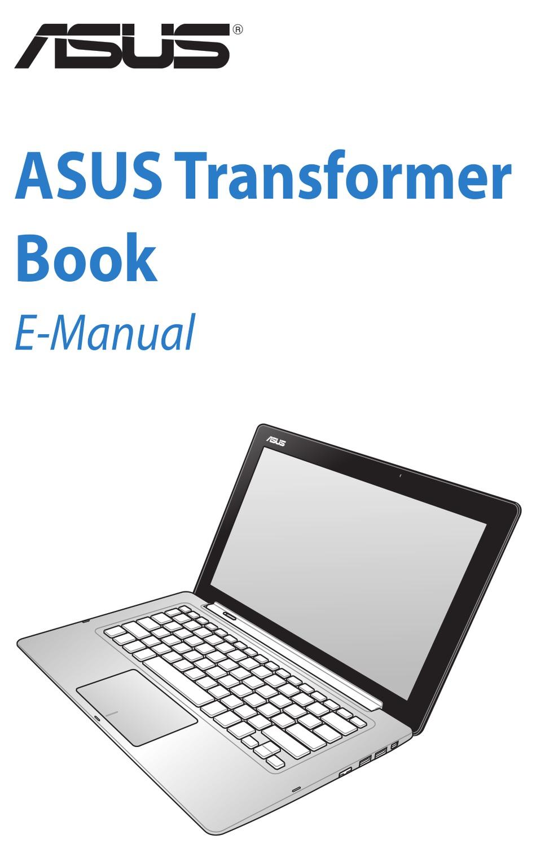 Asus Tx300ca E Manual Pdf Download Manualslib
