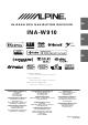 Alpine INA-W910 User Manual