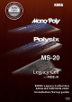 Korg MONOPOLY POLYSIX MS-20 Installation & Setup Manual