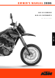KTM ENDURO 640 LC4 Owner's Manual