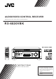 JVC RX-6020VBK Manual D'instructions