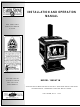 Lennox Hearth Products 1900HT-M Installation And Operation Manual